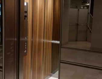 Habillage cabine ascenseur Paris 8